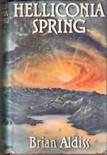 HELLICONIA SPRING Brian Aldiss 1982 1st UK hardback dustjacket Collectable SciFi