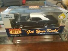 1966 Pontiac GTO Royal Bobcat 1:24 Classic Metal Works & Route 66 GTO 1:18