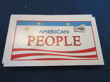 Monopoly America Replacement Pieces Parts People and Places Cards *Ships Free*