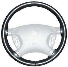 Wheelskins Black Genuine Leather Steering Wheel Cover for Ford (Size AX)