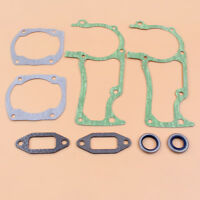 2 Gasket Oil Seal Set For Jonsered CS2166,CS2172 Muffler/Crankcase/Cylinder Saw