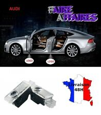 2 lumières de bienvenue Logo AUDI A4 S4 RS4 B7 B8 Cabriolet Break Sline #0