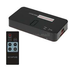Ezcap284 HD Game Video Recorder Capture 1080P HDMI YPBPR USB SD for PS3 PS4 U0B1