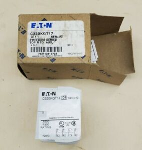 Eaton Cutler Hammer C320KGT17 Auxiliary Contact Block Series A2 - NEW in Box