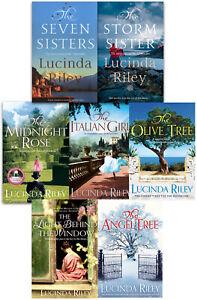 Lucinda Riley Collection 7 Books Set Bundles (Seven Sisters, Storm Sister, Midni