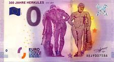 ALLEMAGNE Kassel, 300 Jahre Herkules, 2017, Billet Euro Souvenir