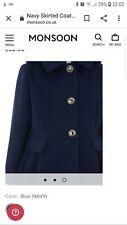 Monsoon Girls Gwen Bee School Coat Hooded Dress Jacket Age 12 - 13 Years