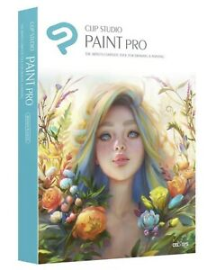 Clip Studio Paint Pro Win/Mac - PREMIUM Edition - New Retail Box
