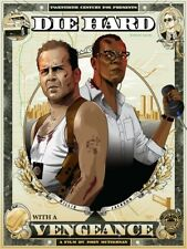 Die Hard With A Vengeance Bruce Willis Cryssy Cheung Movie Print Poster Mondo