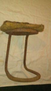 OLD FARM MILKING STOOL, Old farm tool 1940's  Decor Display ~ Plant Stand