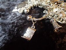 Know where you want to go! Treasure Map Charm for Weight Watchers Keychain!