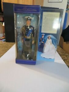 """PRINCE CHARLES -Prince of Wales WEDDING DOLL  1982 by GOLDBERGER in box-11 1/2"""""""