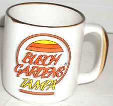BUSCH GARDENS TAMPA Coffee Mug Speckled Pottery Made in Korea