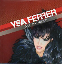★☆★ CD SINGLE Ysa FERRER On fait l'amour 3-track CARD SLEEVE  NEUF SCELLE ★☆★