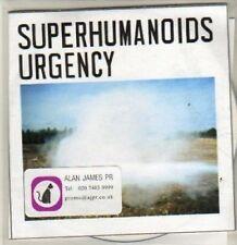 (BR731) Superhumanoids Urgency, Persona - DJ CD