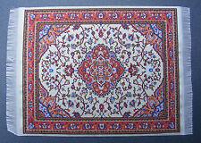 Escala 1:12 25cm X 17.5cm alfombra turca de tejido muñeca casa miniatura Alfombra P32L