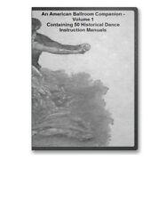 50 Historic Dance Instruction Books 1490-1920 Ballroom Waltz Quadrille V1CD B129