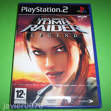 TOMB RAIDER LEGEND NUEVO PRECINTADO PAL ESPAÑA PLAYSTATION 2 PS2