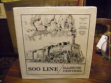 Soo Line Illinois Central #SP-5 Railroad Club LP EX IN Shrink Hawkins Wisconsin