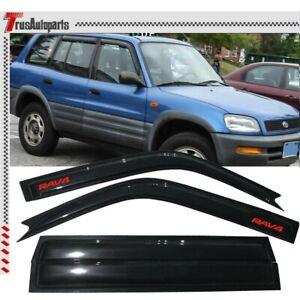 """For 2013-16 Toyota RAV4 38.5/"""" Rain Guard Visor Dark Gray Type2 Sun Roof 980mm"""