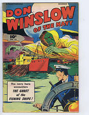 Don Winslow of the Navy #52 Fawcett Pub 1947