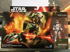 "Star Wars The Force Awakens 3.75"" Vehicle Assault Walker christmas gift kid"