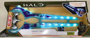 Halo Energy Sword Pulsing Lights And Sound Brand New