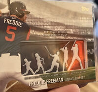 2018 Freddie Freeman Topps Baseball Series One Memorabilia Patch PWP-FF