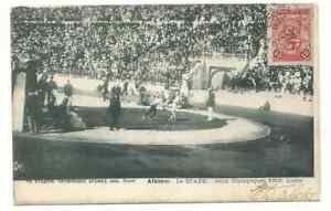 GREECE  Olympic Games 1906 Mailed Postcard
