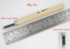 M01532 MOREZMORE 6.8mm Round Clay Wood Carving Chisel Knife Cutter Tool IZB