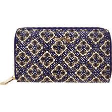 Paul & Joe Sister Estampado de Gato ZIP AROUND cartera billetera Azul Asos Indie BNWT