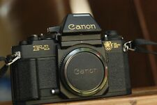 Canon F1N 35mm  SLR Camera (LA 1984 Olympic Edition) + FD 28mm F2.8 lens