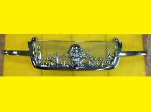 Skull Grille Chevrolet Silverado 2003-2005 Chrome Custom 19168629