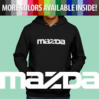 Mazda Mazdaspeed 3 6 Protege RX7 RX8 Miata Pullover Hoodie Jacket Hooded Sweater