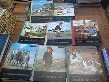 Lot de 8 livres Connais-tu mon pays en Hollande avec Hans En Grèce avec Périclès