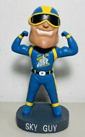 Chicago Sky Guy Bobblehead WNBA NBA RARE SGA Superhero Mascot Basketball