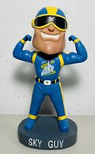 Chicago Sky Guy Bobblehead WNBA NBA RARE SGA Superhero Mascot Basketball