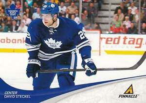 2011-12 Pinnacle #143 DAVID STECKEL - Toronto Maple Leafs