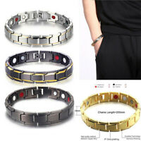Men Women Therapeutic Energy Healing Magnetic Bracelet Therapy Arthritis