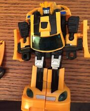 Transformers CUSTOM Bumblebee GOLD SCOUT UPGRADE CHUG CLASSICS G1 G2 100 MADE