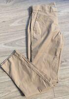 GAP Mens Iconic Khaki Beige Slim Stretch Chino Trousers Size 32 X 32 Smart Casua