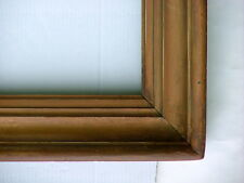 """FRAME LARGE 19th C. VINTAGE AMERICAN HUDSON RIVER SOLID WOOD COVE FITS 42"""" x 32"""""""