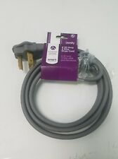 Hotpoint Kenmore Sears 3 Prong Dryer Cord 6' Ft 30 Amp Ap5176323 Tj5656 Wx9X4