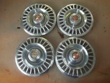 "1967 67 Pontiac Firebird Hubcap Rim Wheel Cover Hub Cap 14"" OEM USED 5002A SET 4"