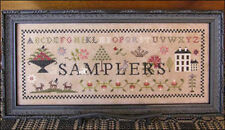 10% Off The Scarlett House counted X-stitch chart - Samplers