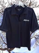 HillBank Motor Sport Shelby Racing SportTek Stitched Polo Shirt XL X-LARGE Black