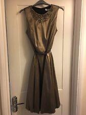 BNWT Dickens and Jones Bronze / Gold Dress Size 12