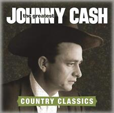 JOHNNY CASH       -      THE GREATEST COUNTRY CLASSICS          -     NEW CD