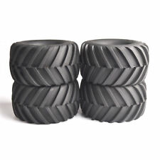 12mm Hex 4Pcs Ruber Tires Wheels For RC 1:10 Climbing Big Foot Monster Car Truck