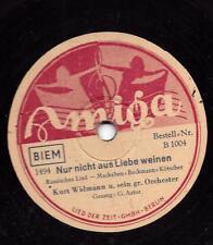 Gloria Astor chante Zarah Leander titre 1939: seulement pas par amour pleurer